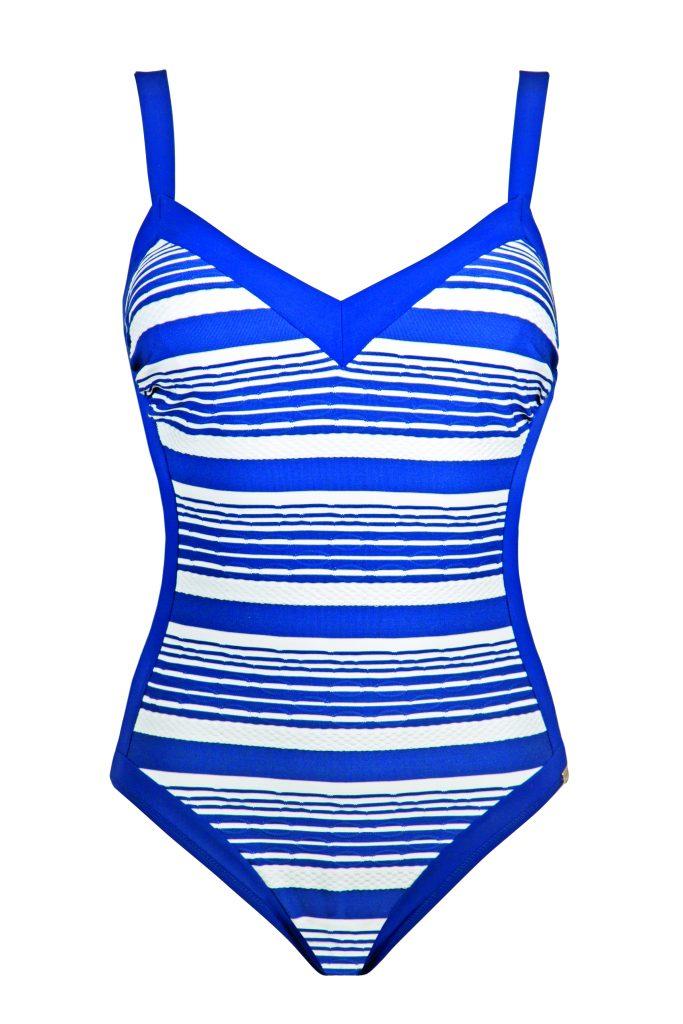 c35ec864c2e4 righe sui costumi da bagno moda mare estate 2018