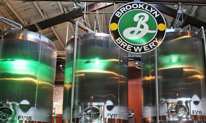Interno del birrificio