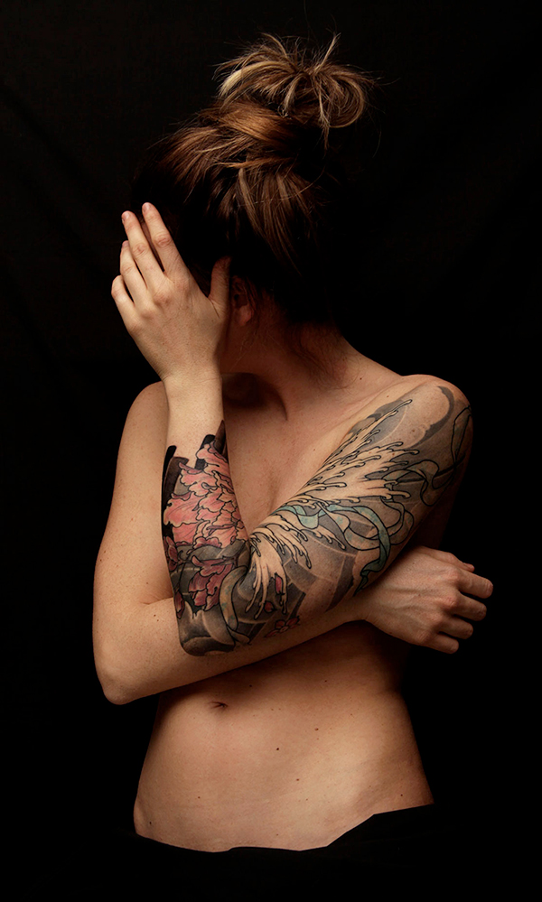 Free hand tattoo
