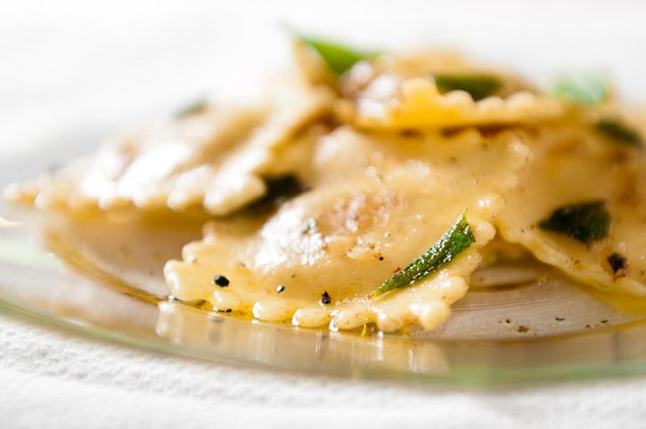 Ravioli vegan al profumo di limone, la ricetta