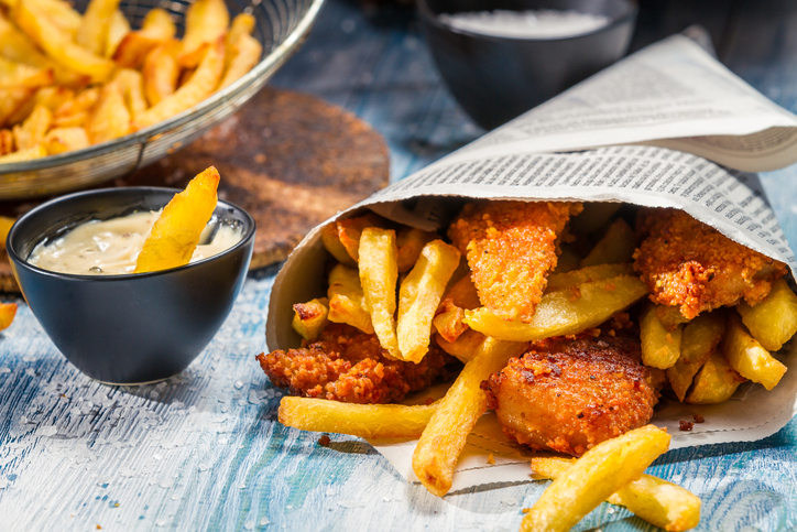 Fish & chips, la versione vegan di un piatto British