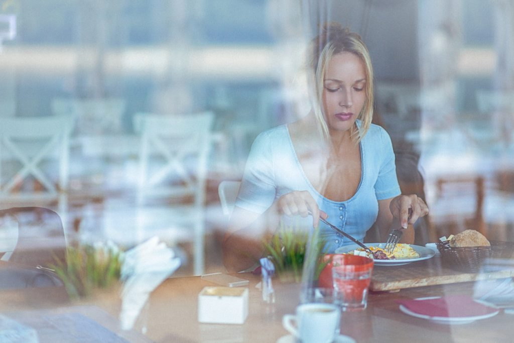Mangiare isolati