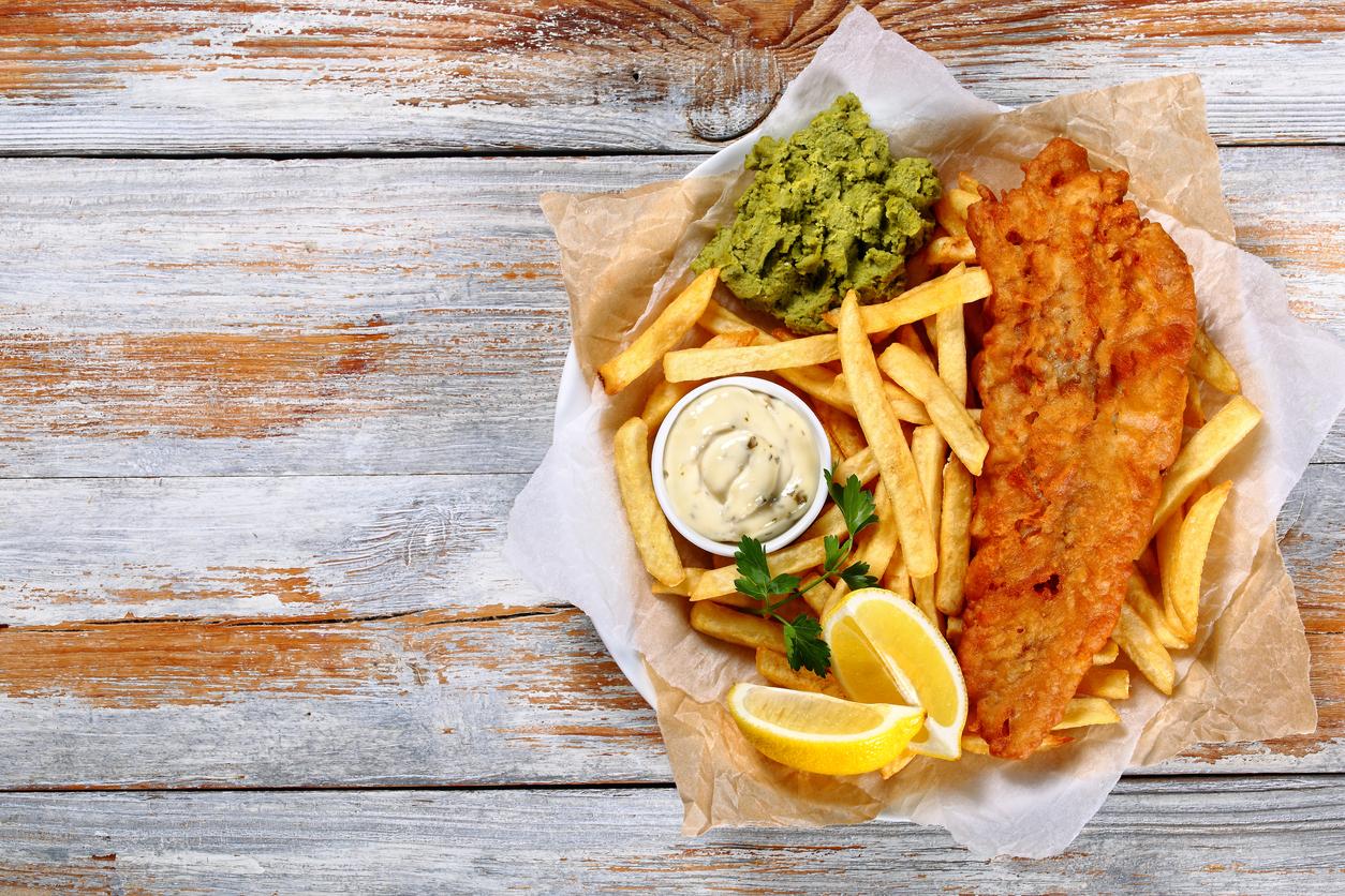 uk availability 4e2fc 7c5e6 Fish & Chips da manuale per un tocco british in cucina - www ...