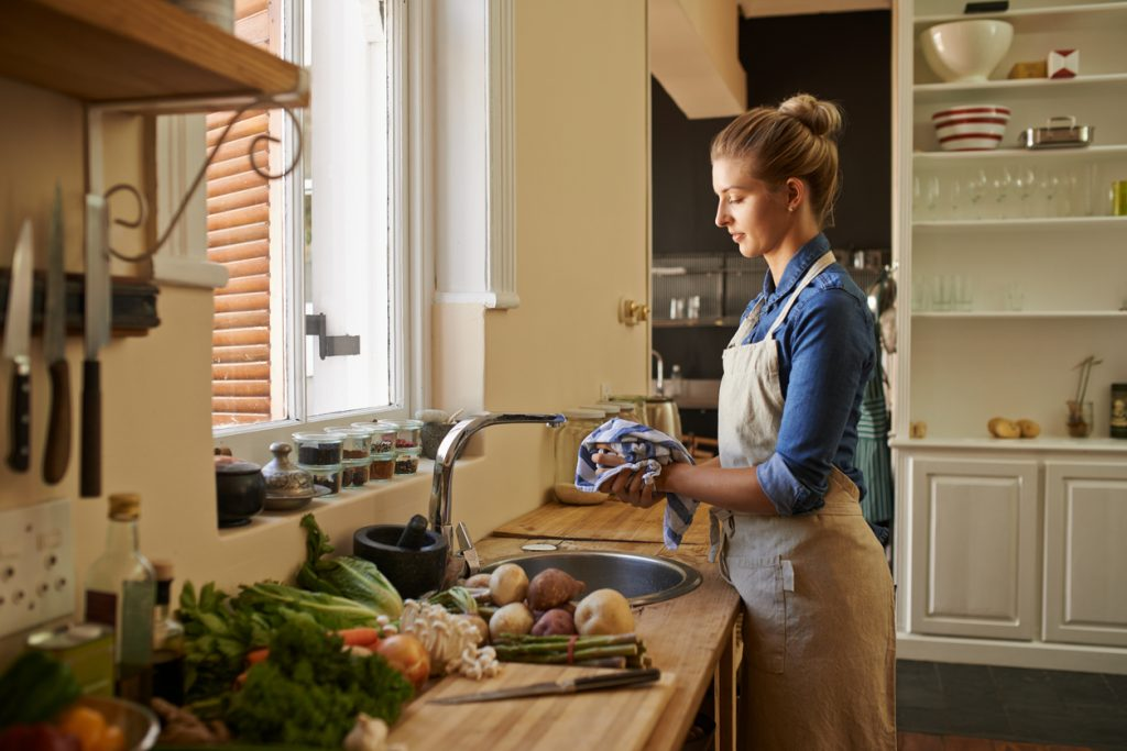 Ogni quanto vanno puliti strofinacci e salviette da cucina