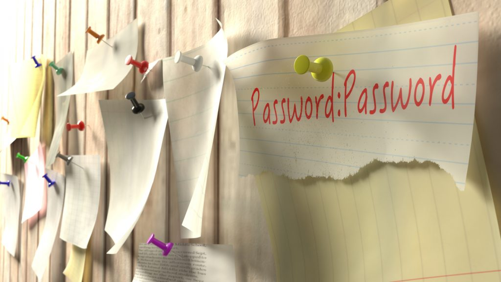 password rischio