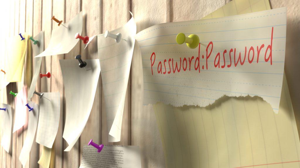 password rischio