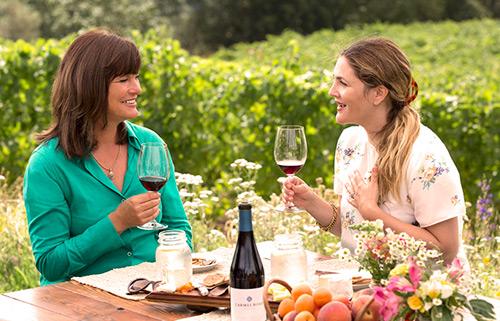 Dieci star che producono dell'ottimo vino
