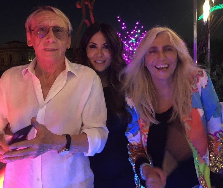 Gianni Dei, Sabrina Ferilli, Mara Venier
