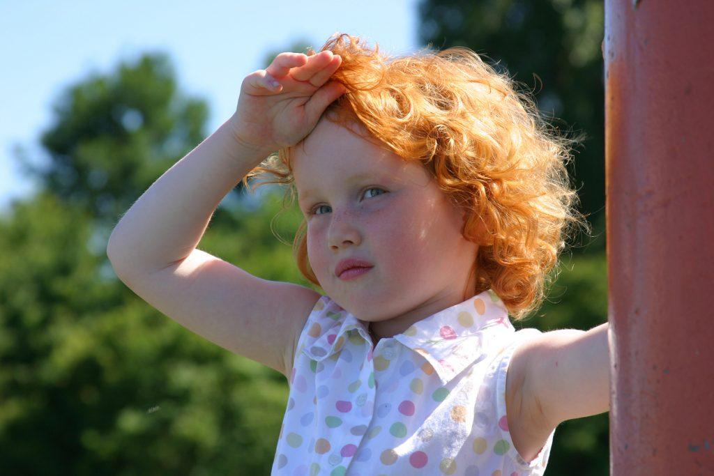 Estate torrida, attenzione al colpo di calore nei bambini