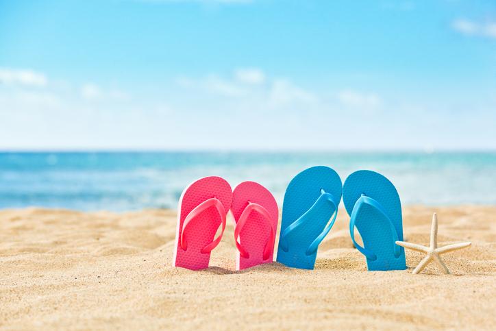 Flip-flop, le iconiche ciabattine dell'estate