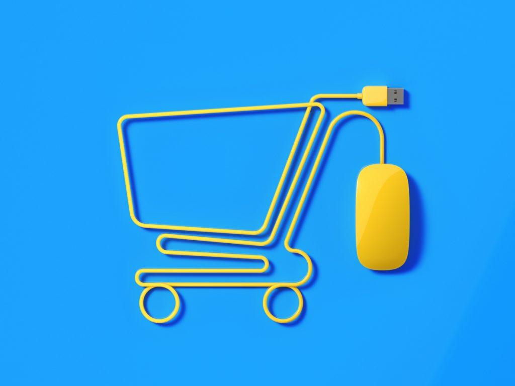 Elettronica settore chiave dello shopping online
