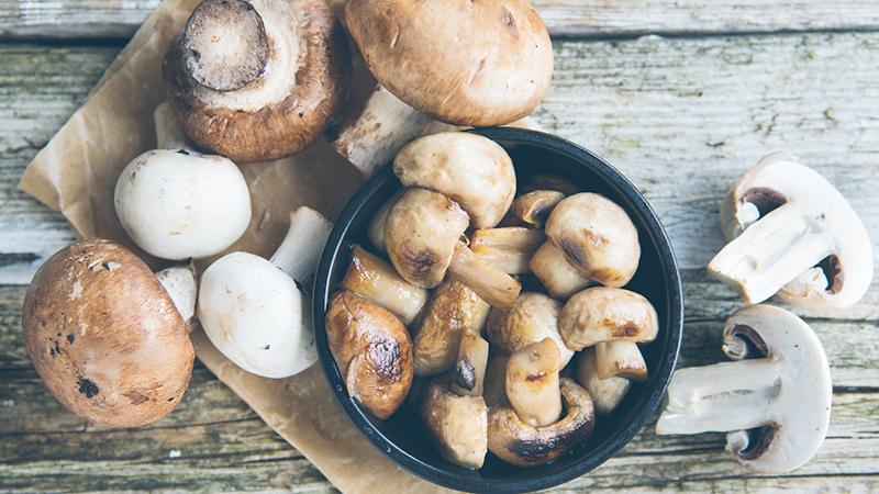 Carenza di vitamina D? Mangiare i funghi aiuta