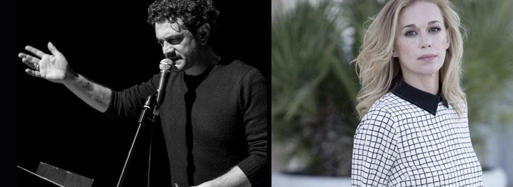 Vinicio Marchioni e Milena Mancini