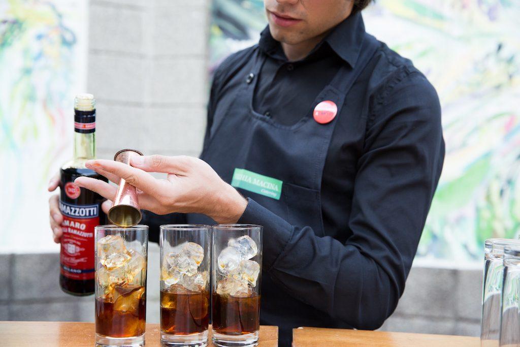 Ramagino, il cocktail che unisce amaro e gin