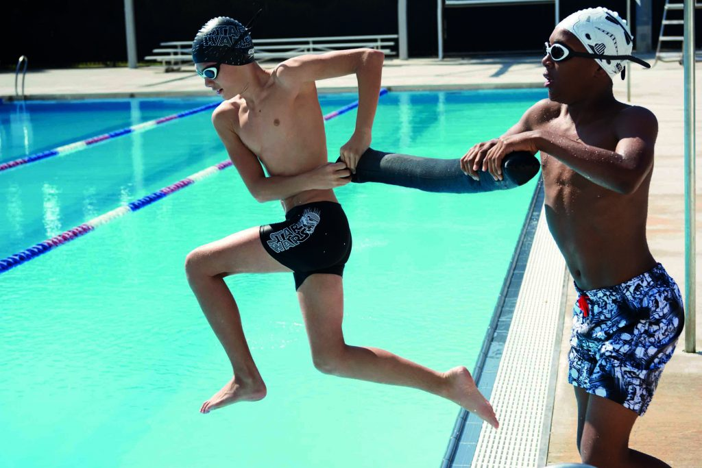 Kid swimwear, i costumi per giovani nuotatori