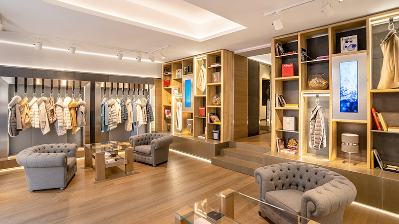 Flagship store Herno