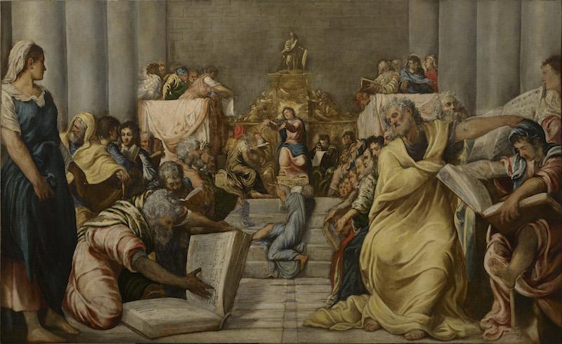 Venezia, alle Gallerie dell'Accademia il Giovane Tintoretto