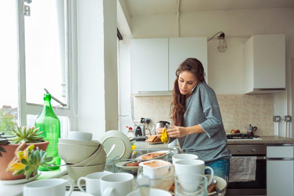 batteri in cucina