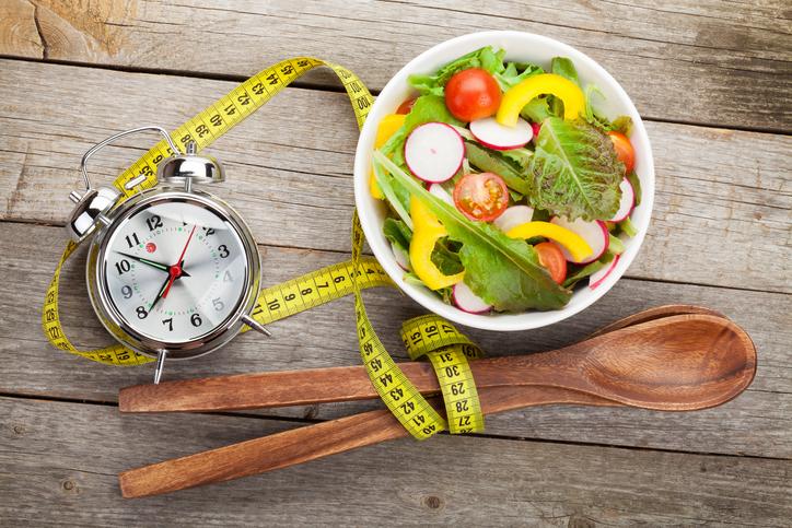 Mangiare all'ora giusta per rimanere in forma