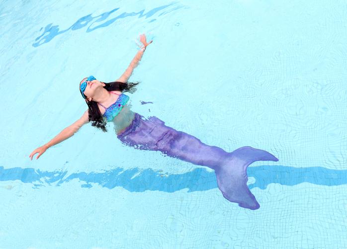 Sirene e tritoni per rimettersi in forma