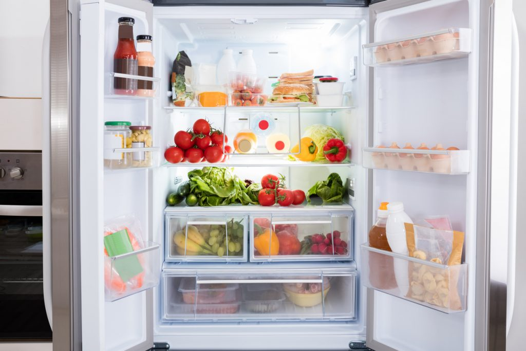 spazio nel frigorifero