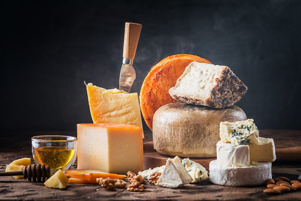 I formaggi italiani in mostra a Bergamo