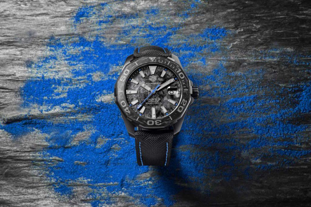 Azzurro, come un… orologio