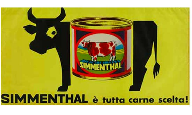 Capolavori pubblicitari: il manifesto della Simmenthal