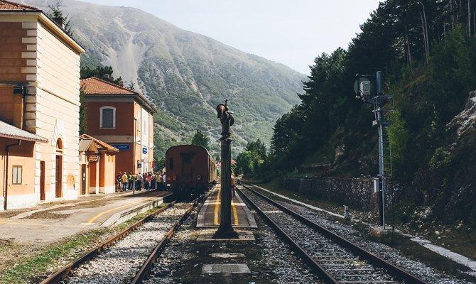 Transiberiana italiana, in Abruzzo a bordo di treni storici