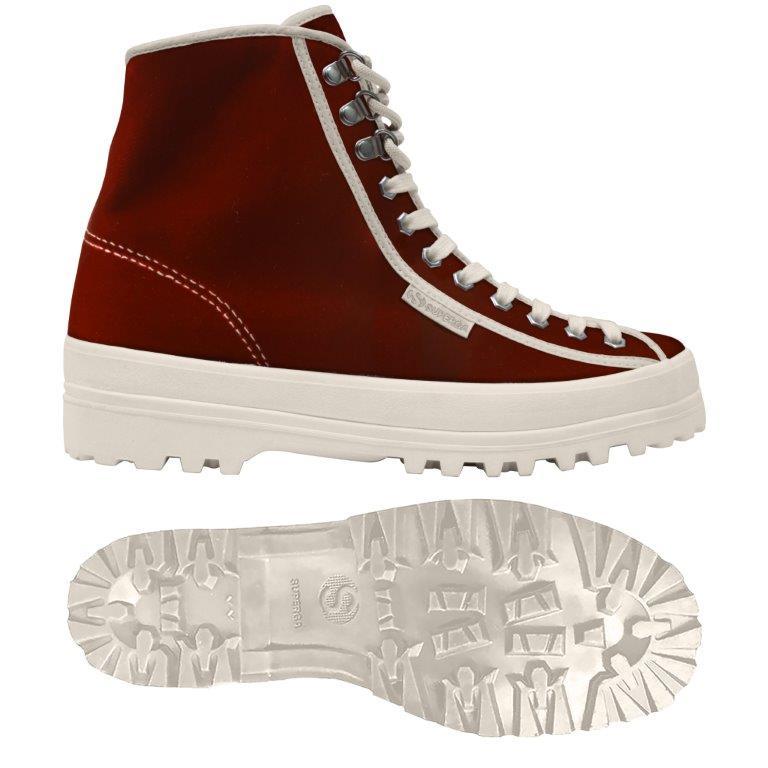 Velvet sneakers