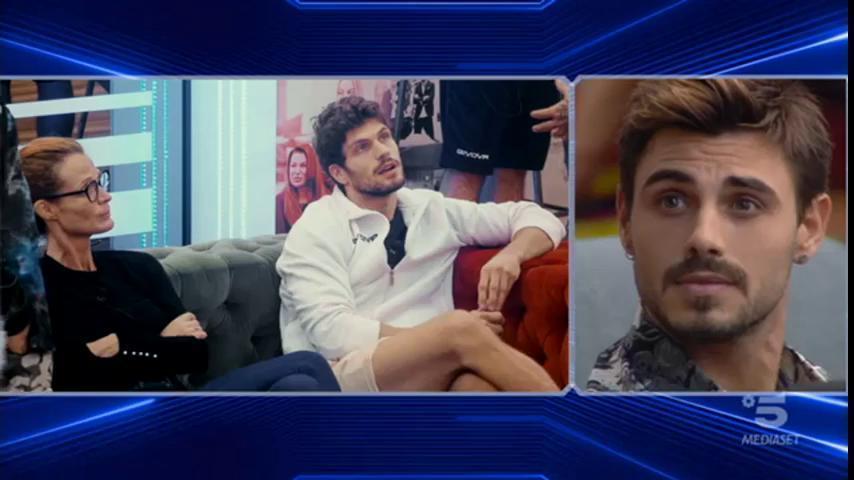 """GF Vip, Francesco Monte sul bacio lesbo: """"Mi fa schifo"""""""