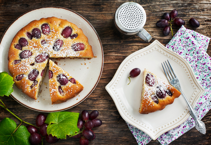 torta d'uva