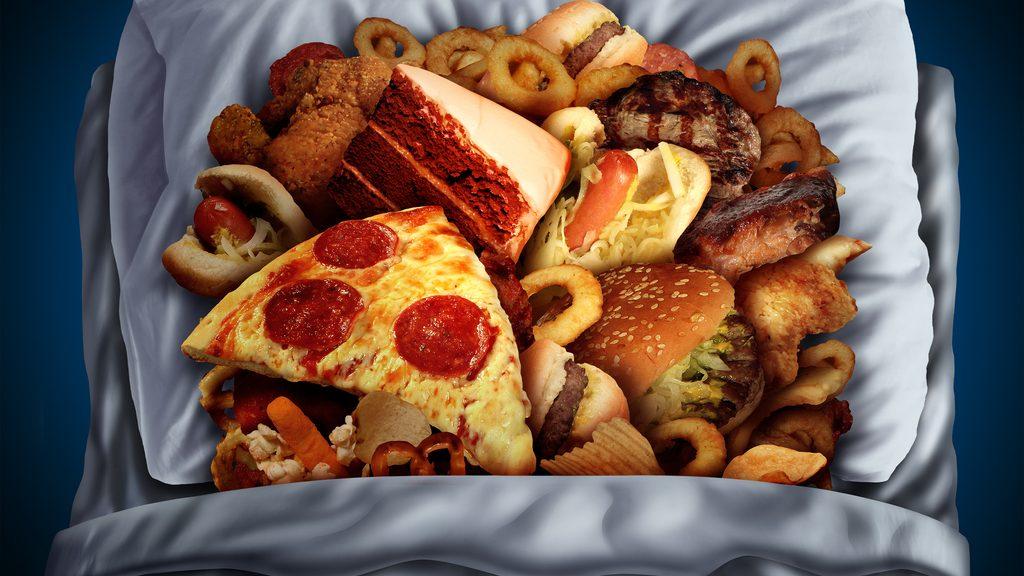 Amore per il cibo, tanto forte da sognarlo di notte