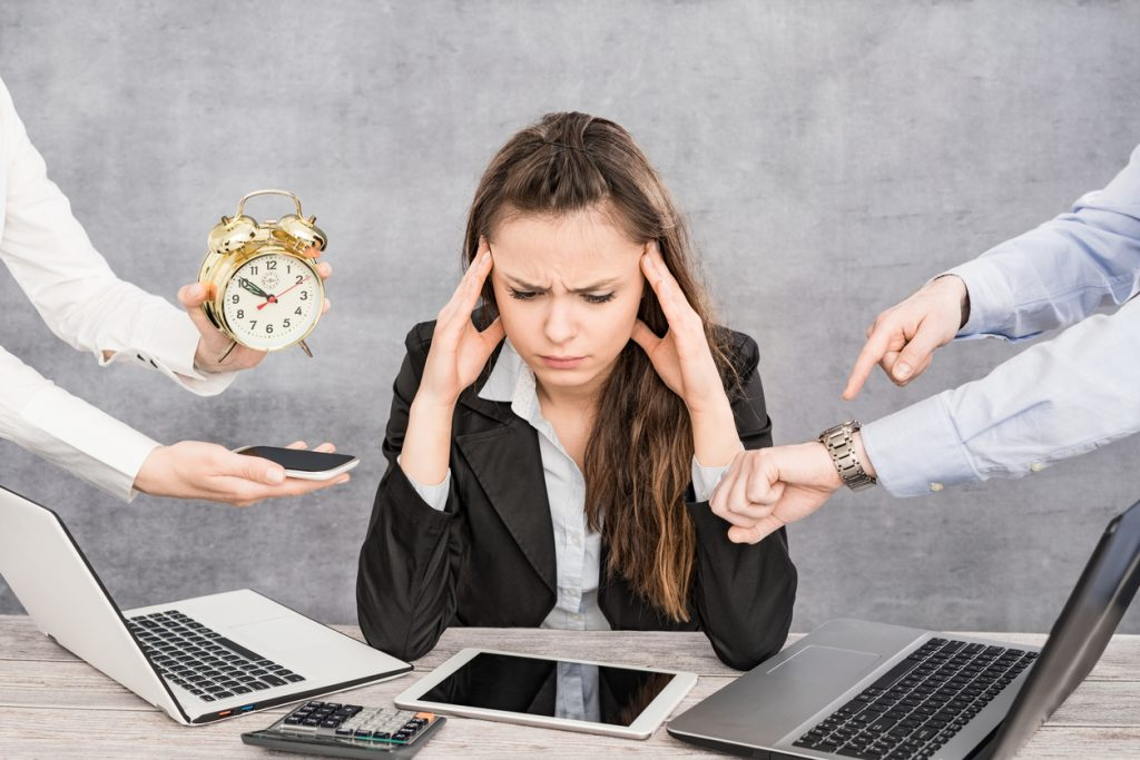 lavoro stressante