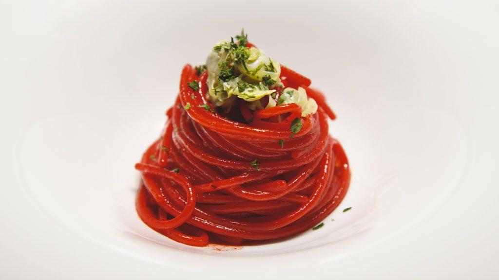 Giovani chef: lo Spaghetto Rosso di Luca Baldacci