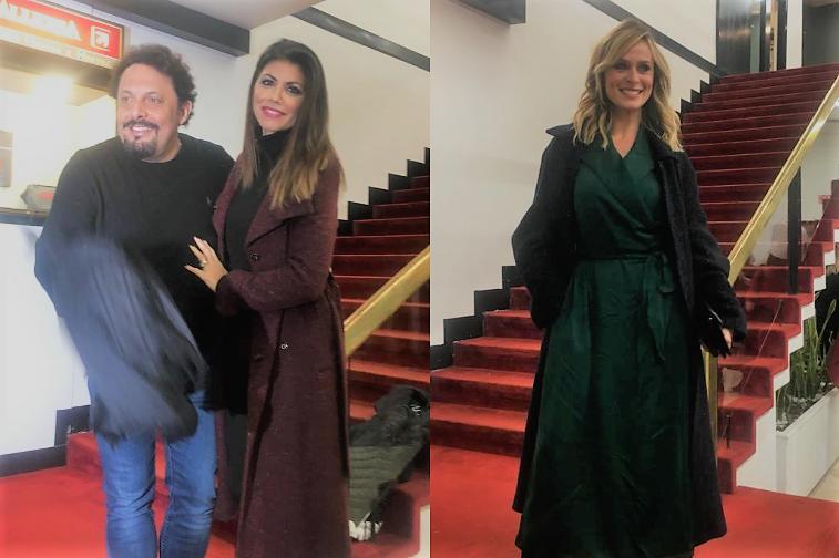Enrico Brignano, Flora Canto, Serena Autieri
