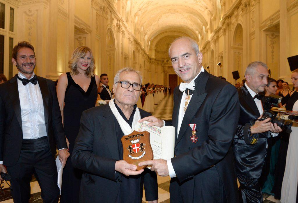 Carlo Pignatelli premiato al Gran Ballo della Venaria Reale