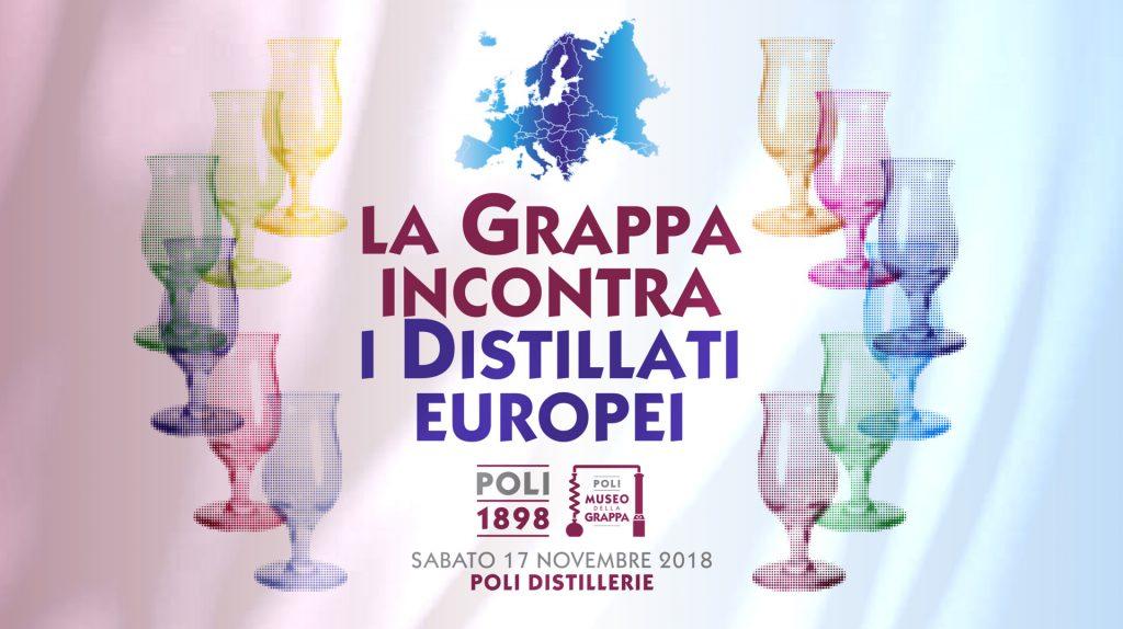 La Grappa incontra i distillati europei