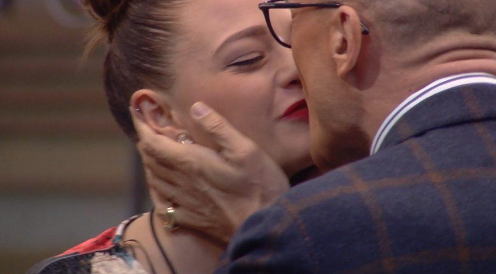Silvia Provvedi e Alfonso Signorini