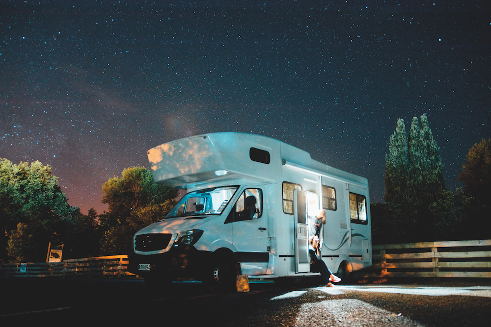Vanlife sotto le stelle
