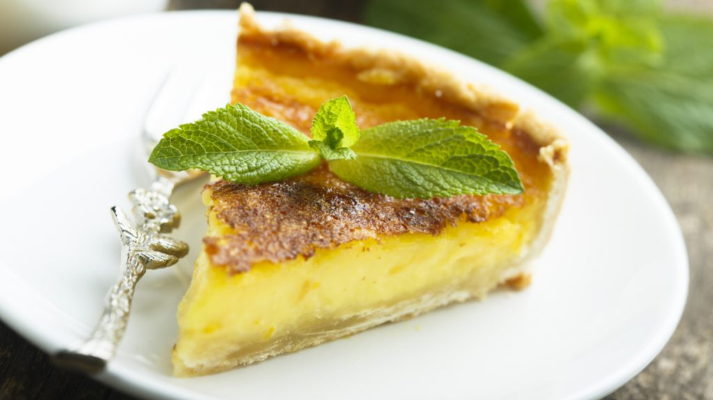 Torta al kiwi giallo