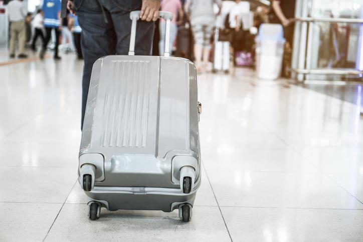 Valigia in alluminio, funzionale ed elegante