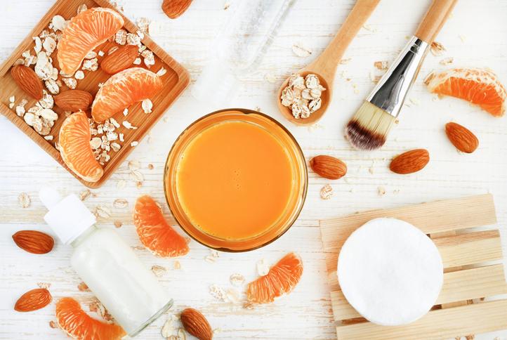 Una pelle luminosa con le clementine