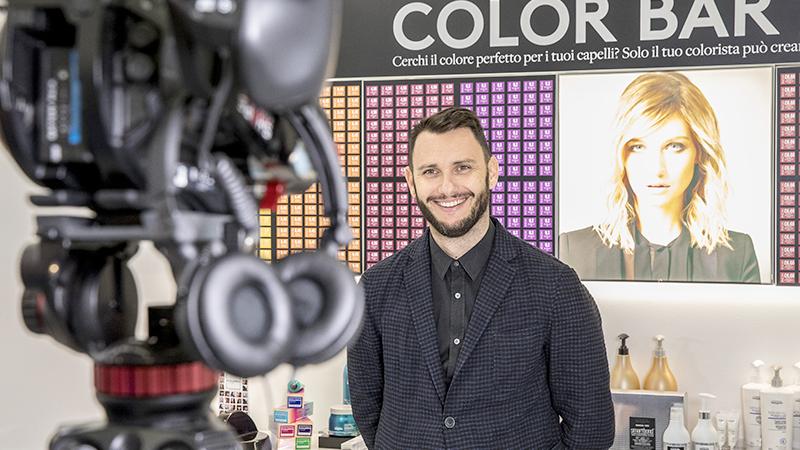 Orazio Anelli, hairstylist partner di L'Oréal Professionnel