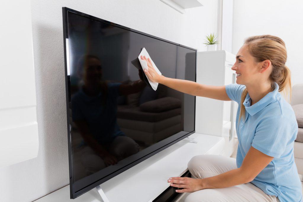 schermo televisore HD