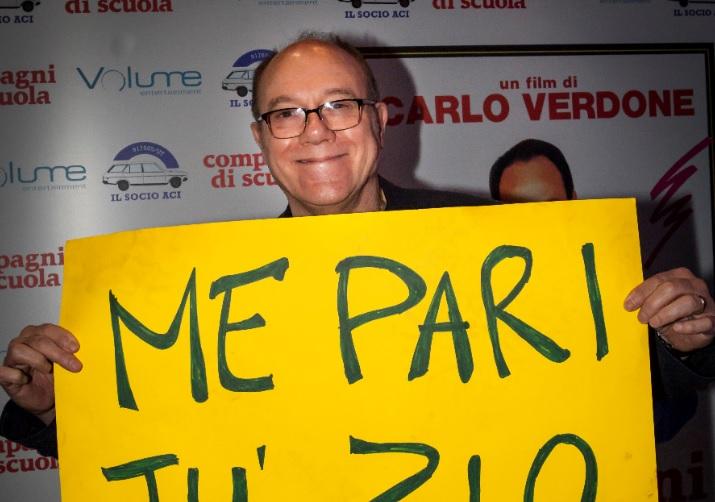 """Carlo Verdone e il cinema – Tutto il """"glam"""" della settimana"""