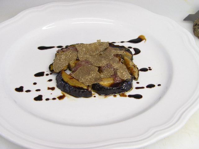 Ricetta: Porcini caramellati al forno con lardo d'oca affumicato