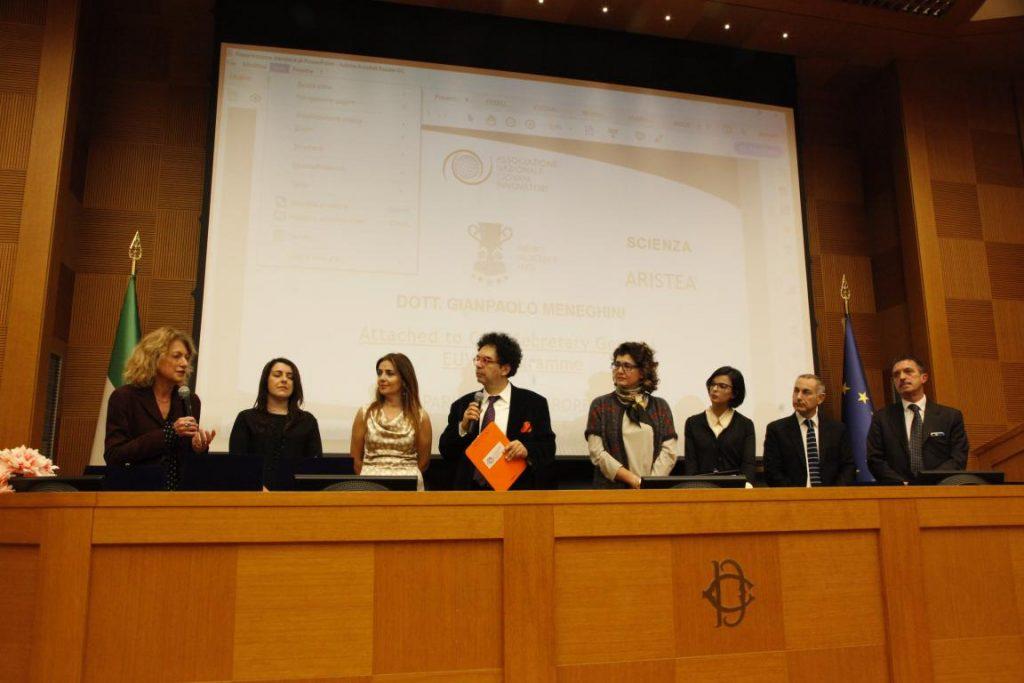 I vincitori del Premio Scienza e Salute