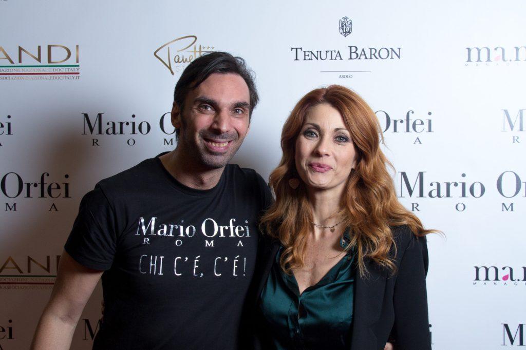 Mario Orfei e Milena Miconi
