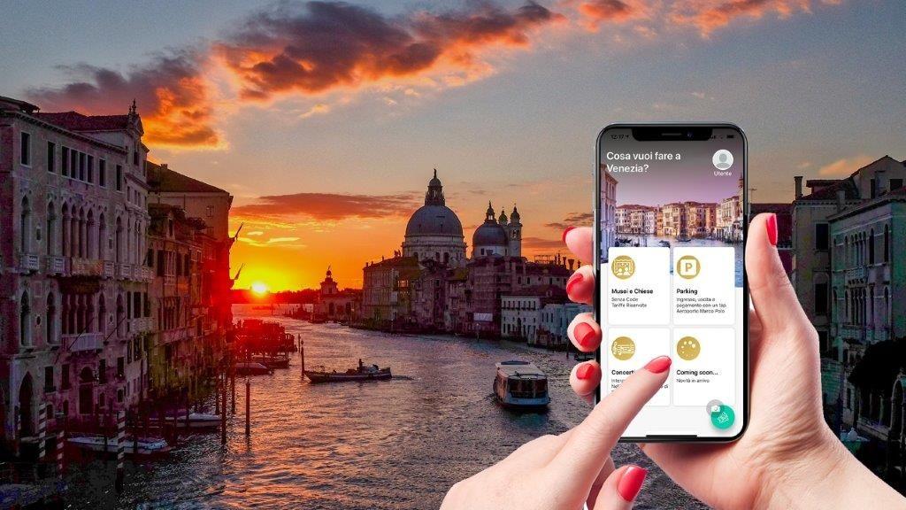 Una app multifunzione per Venezia